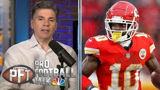 PFT Overtime: Could Chiefs trade Hill before start of season?   Pro Football Talk   NBC Sports
