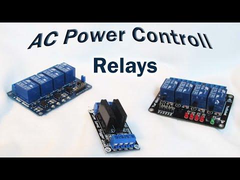 DIY Arduino Digital Aquarium Controller Part5: AC Relay and SSR
