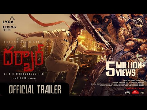DARBAR (Telugu) - Official Trailer