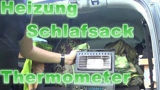 MCV Camper #7 - Heizung / Schlafsack / Thermometer