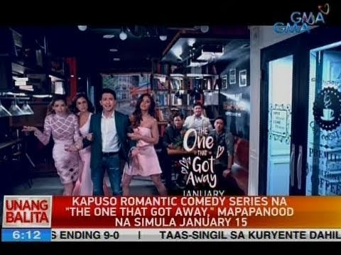 "UB: Kapuso romantic comedy series na ""The One That Got Away,"" mapapanood na simula January 15"