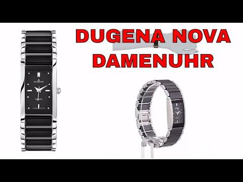 Damenuhr Nova von Dugena - Edelstahl / Keramikuhr für Damen