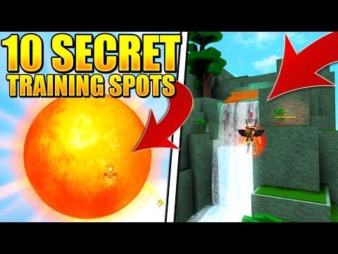 New Unknown Areas / Secret Areas / Super Power Training Simulator