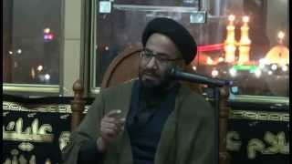 preview picture of video '09-Dec-2014 Karbala Majlis in Hotel AghaMoosaRaza Topic Walid Ki Azmat'
