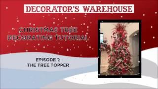 Designer Christmas Tree: Part 1 Tree Topper