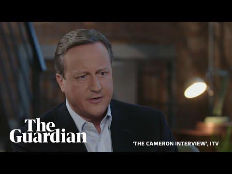 David Cameron on Brexit regrets, Boris Johnson and the expulsion of 21 Tory MPs