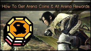 Monster Hunter World ▼ How To Get Arena Coins  All Arena Rewards
