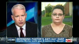 Bigoted Church Member Defends Pastor Worley