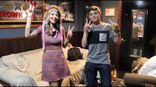 Heads Up Challenge with Melanie Martinez & Tyler Layne