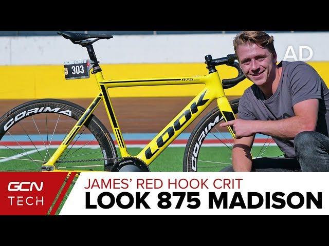 James' Red Hook Crit LOOK 875 Madison Track Bike   GCN