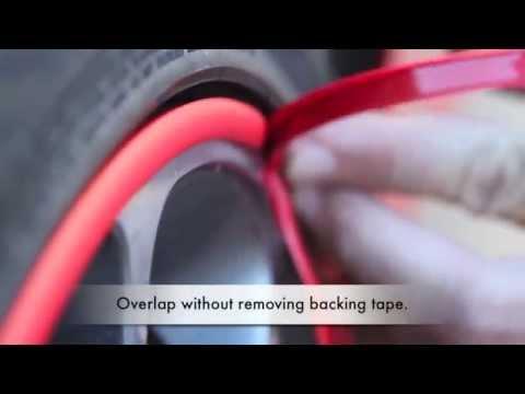 Rimblades Scuffs Install