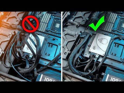 Tips for the PERFECT Cable Management Setup