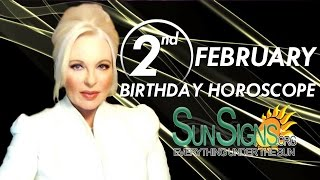 Birthday February 2nd Horoscope Personality Zodiac Sign Aquarius Astrology