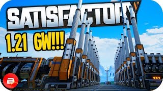1.21 Gigawatts needed to Time Travel in Satisfactory!!! (Satisfactory Early Access Gameplay)