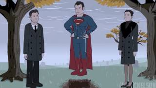 """Как следовало закончить фильм """"Бэтмен против Супермена: На заре справедливости"""" - Сцена После Титров"""