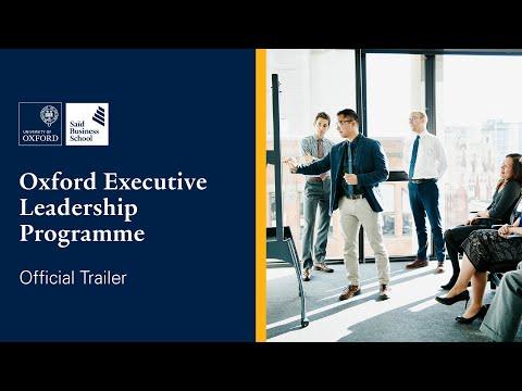 Oxford Executive Leadership Programme | Trailer