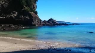 静岡県伊豆下田碁石が浜ビーチ2017年1月
