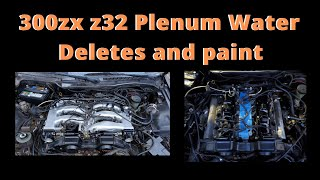 300ZX Z32 Plenum deletes and how to paint