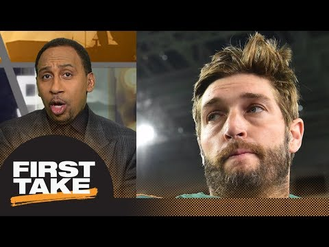 Stephen A. Smith goes off on Molly's question about Jay Cutler | First Take | ESPN