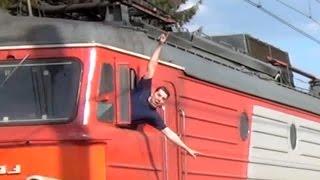 Приветливые локомотивные бригады на Московском ж/д узле (ч. 1/2)