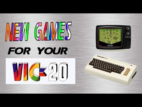 New Games For your Vic 20