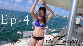 Solo sailing to southern Cuba   Sailing Zingaro Ep-4