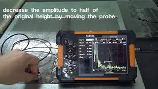 Συσκευή Ελέγχου με Υπερήχους SMARTOR SIUI- Λειτουργία UT Crack Height Measurement