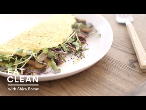 Mushroom and Microgreen Omelet – Eat Clean with Shira Bocar