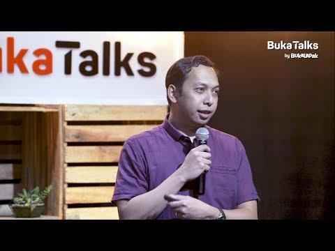 Ariya Hidayat - Teknik Presentasi yang Memikat | BukaTalks