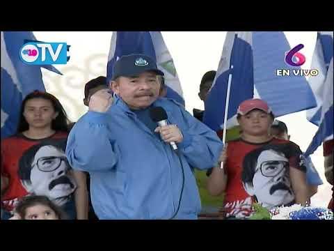 Comandante Daniel y Compañera Rosario conmemoran junto al pueblo la gesta heroica de San Jacinto