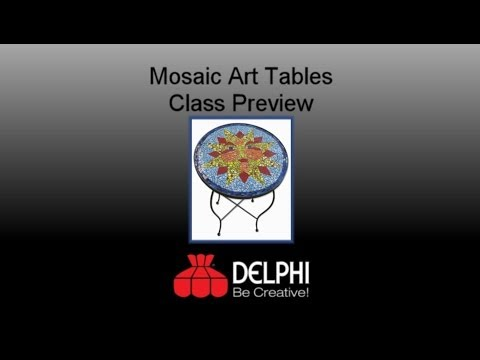 Mosaic Art Tables