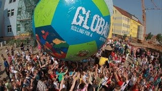 preview picture of video 'GLOBALL 2014 in Zwenkau'
