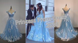 Princess Lace Prom Dress 2020
