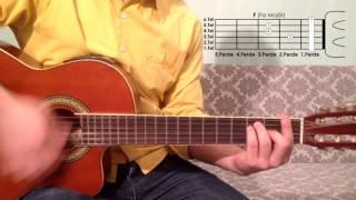 F Fa Majör Akoru Nasıl Basılır Gitar Dersleri