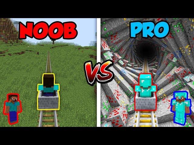 Minecraft NOOB vs  PRO: ROLLERCOASTER 2! | AVM Shorts