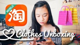 Taobao Unboxing高質淘寶開37件衫👗成功淘到鋼絲刷?🌝 | Agnes Yue🐨