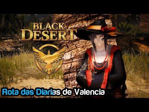 Black Desert-  Rota de Quests Diárias de Valencia