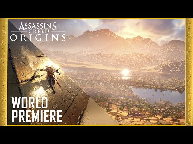 Assassin's Creed Origins - Best Multiplatform Game of E3 2017 - Nominee