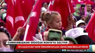Cumhurbaşkanı Erdoğan Konya'ya geliyor