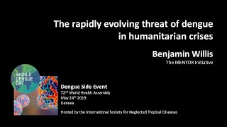 Video: The rapidly evolving threat of dengue in humanitarian crises