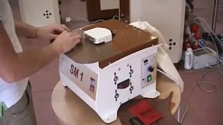 Однопозиционная машина полировки края кожаных изделий Galli SM1