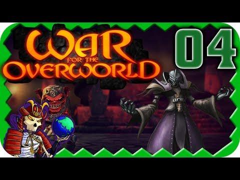 WAR FOR THE OVERWORLD | 4 Player Battle Royale | 4 | War for the Overworld Multiplayer Gameplay (видео)