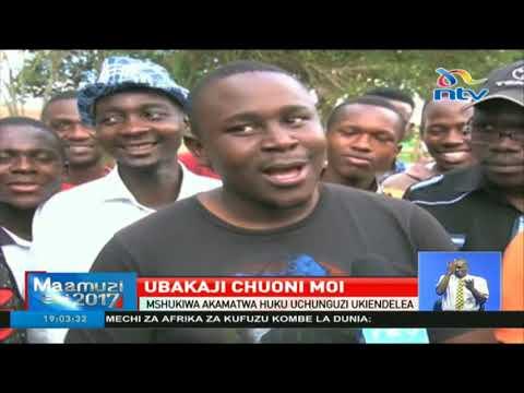 Download Maandamano Chuoni Moi kufuatia ubakaji wa mwanafunzi