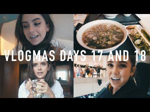 VLOGMAS 2017 DAYS 17 AND 18: Christmas Shopping and a Meltdown | sunbeamsjess