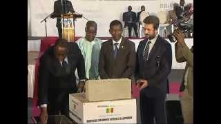 cérémonie de pose de la premiére piérre de l'université Amadou Makhtar Mbow (UAM) (4eme partie et fin