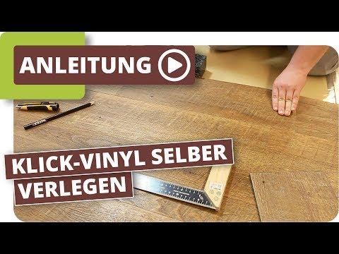 Vinylboden selber verlegen 5mm Klick: Parkett-Wohnwelt sagt wie
