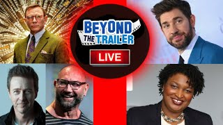 Knives Out 2 Edward Norton & Dave Bautista, Stacey Abrams Book TV Deal, John Krasinski Paramount by Beyond The Trailer