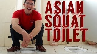 How to Use an Asian Squat Toilet