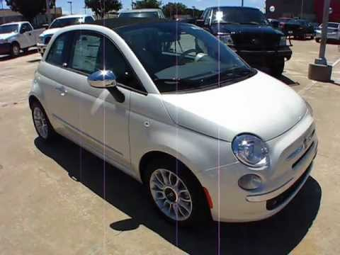 2012 Fiat 500C Lounge Start Up, Exterior/ Interior Review