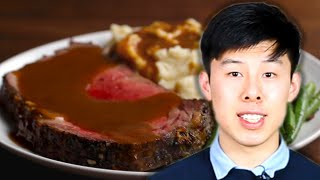 How To Make Alvin's Prime Rib With Garlic Butter • Tasty